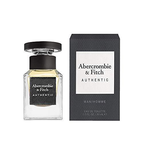 Abercrombie & Fitch Authentic Man Eau De Toilette, Uomo - 30 ml