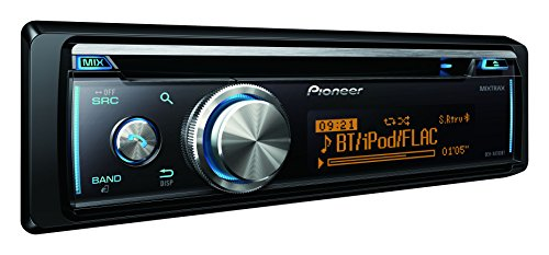 Pioneer DEH-X8700BT Car Stereo mit Bluetooth, CD, USB und Aux-In