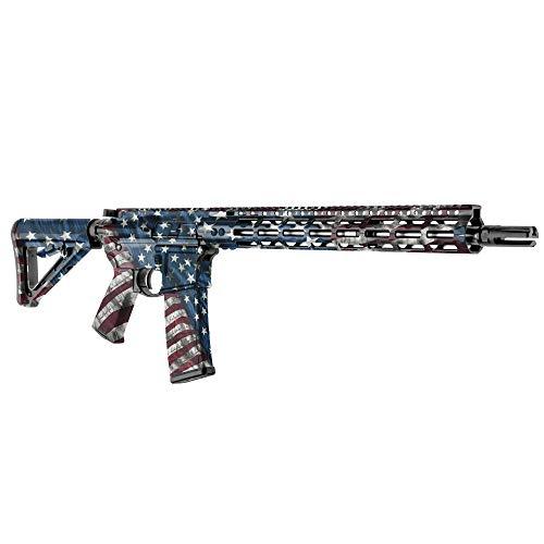 GunSkins AR-15 Rifle Skin - Premium Vinyl Gun Wrap with Precut...