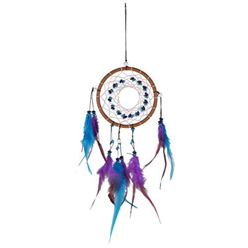 Mode Attrape-Rêve Turquoise Plumes Décoration Maison Cadeau Dream Catcher