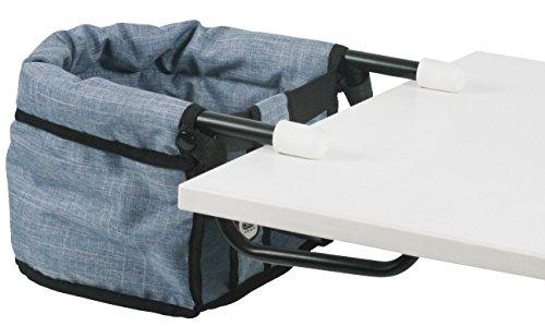 Bayer Chic 2000 735 50 Tischsitz für Baby-Puppen, Jeans blau