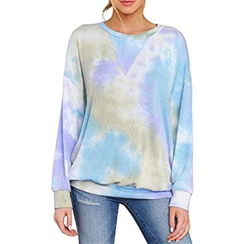 Pullover Damen T-Shirt Damen Elegante Casual Fashion Chic Mode Damen T-Shirt Herbst...