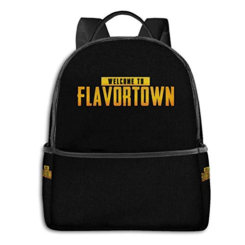 Guy Fieri Welcome to Flavortown. High-Capacity Fashion Backpack, Portable Backpack for Outdoor Sports