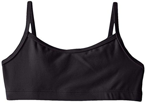 Capezio Little Girls  Team Basic Camisole Bra Top, Black, Small