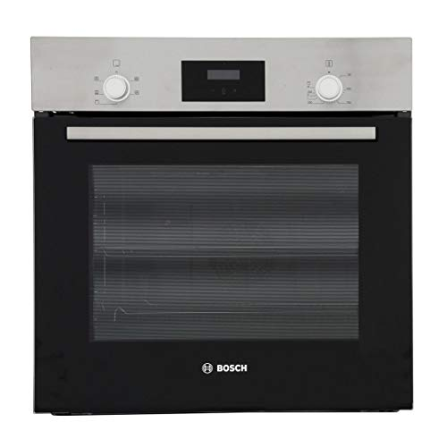 Bosch Serie 2 HHF113BR0B Stainless Steel Single Electric Oven with A...