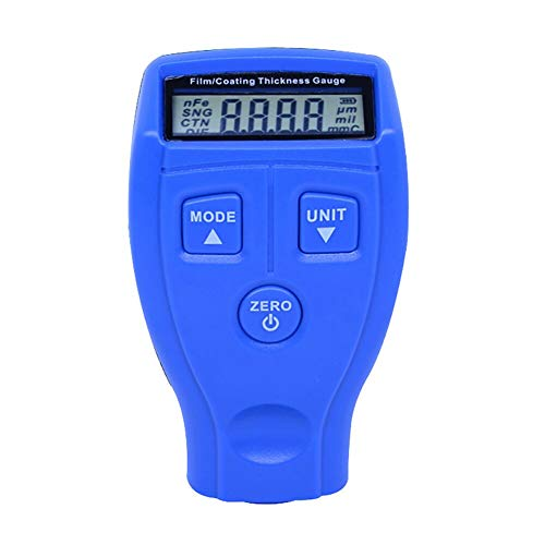 TANGIST High Accuracy Electronic Mini Measure Thickness Gauge Tester Instruments Digital Paint Film Portable Meter Coating Car Paint Tester (Color : Grey)