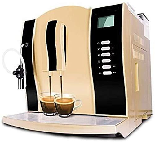 Italienische Kaffeemaschine, Kaffeevollautomat, Gewerbe Kaffeemaschine, Kaffeemaschine, Kaffeemaschine, Filterkaffeemaschine, Dual-Use-410mm mal;338mm mal;355mm Gold-Fashion co jszzzjszzzjszzz