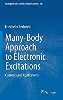 Many-Body Approach to Electronic Excitations: Concepts and Applications (Springer Series in Solid-State Sciences (181))