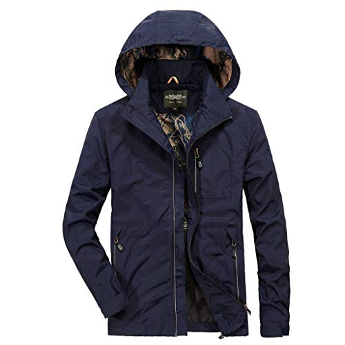 Review Of Pumsun Men's Sportswear Outdoor Quick-Drying Windbreaker Jacket Sport Coat (Navy, M)