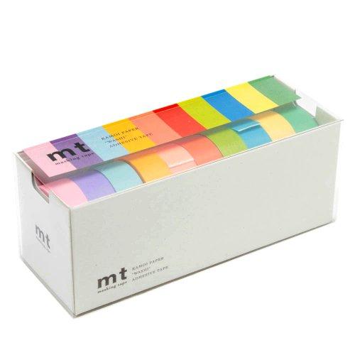 MT Washi Allzweckband, Set von 10, Bright Farben (mt10p003)