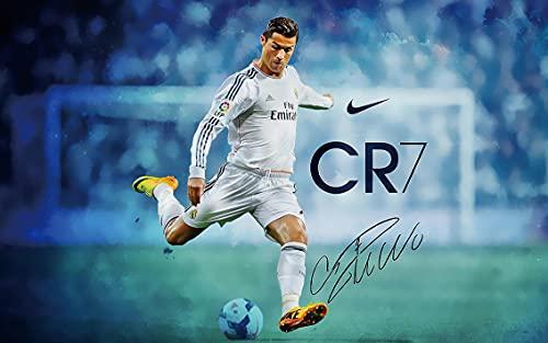 Cristiano Ronaldo Poster 15 x 23 Inches Affiche 38 x 58 cm (380 x 580 mm) Cadeau décorative