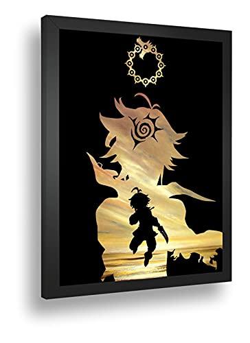 Quadro Decorativo Poste Meliodas Nanatsu No Taizai Anime
