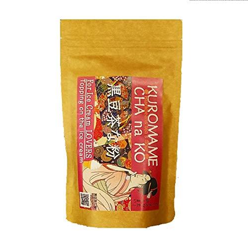 コクと甘みの黒豆茶をベースとした黒豆きなこ「黒豆茶な粉」150g