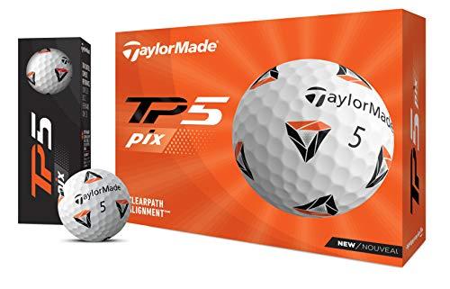 Bola DE Golf TAYLORMADE TP5 PIX 2.0