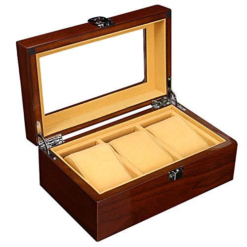 LMEI-WatchBox Cajas para Relojes / 3 Mesa Caja De ExhibicióN De Reloj,...