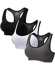 CARETOO Sportbehå för kvinnor racerback medium high impact sport fitness yoga