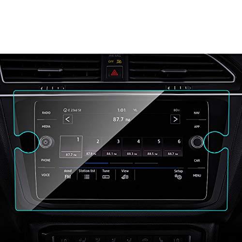 NCUIXZH Protector de Pantalla de navegación GPS para Coche, para Volkswagen Tiguan Atlas Jetta Golf 2019 2018, para VW Golf R GTI Alltrack SportWagen
