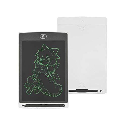 LCD-Schreibtafel, Zeichentablett-Tafel, Büroaufzeichnungs-SchreibmalereiLCD Elektronische tragbare 8,5-Zoll-Grafikkarte, die für Entwurfszeichnungen verwendet Wird-Weiß