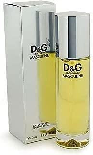 D & G MASCULINE by Dolce & Gabbana EDT SPRAY 3.4 OZ for MEN