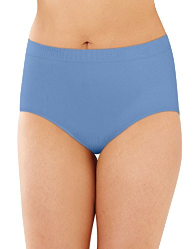 Bali Women's Comfort Revolution Seamless Brief, Hot Springs Blue, 9