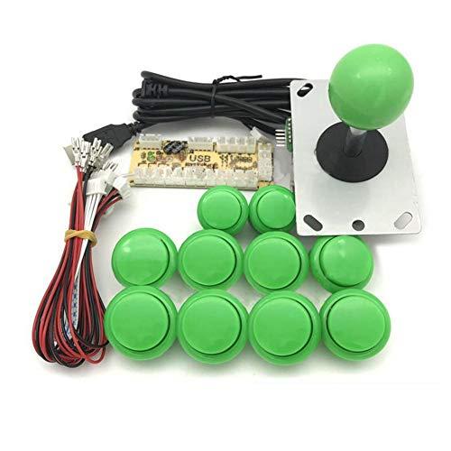 2 Spieler Klassische Arcade Wettbewerb DIY Kits , Arcade Joystick DIY Kit Navigatee Joystick Buttons Zubehör für PC Arcade Mame Spiel
