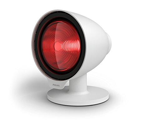 Philips PR3110/00 InfraCare - Lámpara de infrarrojos para tratamiento natural de dolores musculares (150 W)