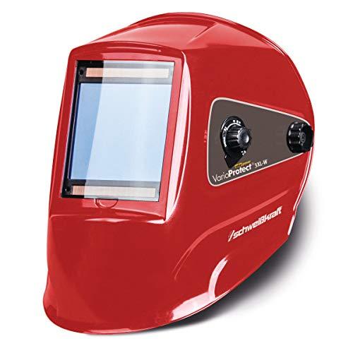 Schweißkraft Automatik-Schweißschutzhelm, mit 4 Sensoren, 379 und EN 175, Solarzellenbetrieb, 1654020