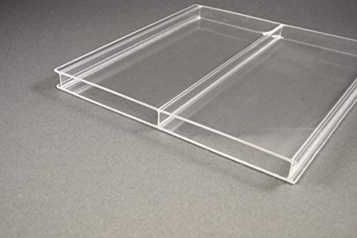 Stegplatten Highlux® Acrylglas 16mm klar - 2fach 96mm Stegabstand 1200mm x 4000mm