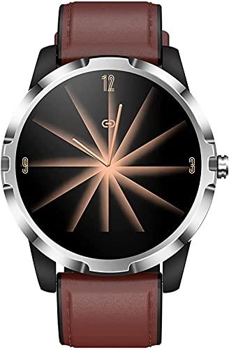 hwbq Smart Watch Fitness Tracker con podómetro monitor de sueño IP67 impermeable pulsera inteligente -marrón q