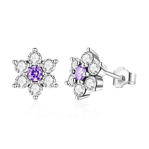 Stud Earrings for Women 925 Sterling Silver