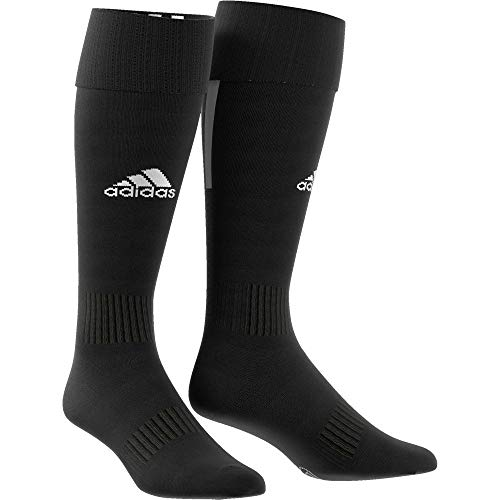 adidas Santos Sock 18 Calcetines, Unisex Adulto, Black/White, 34-36