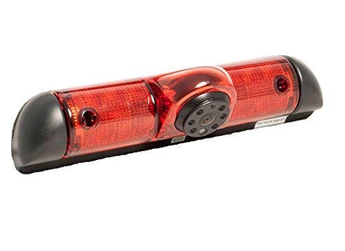 Cámara para visión Trasera en la luz de Freno para el Tercer FIAT Ducato 2006-2015 3 Gen, Peugeot Boxer, Citroen Jumper (Sin Monitor)