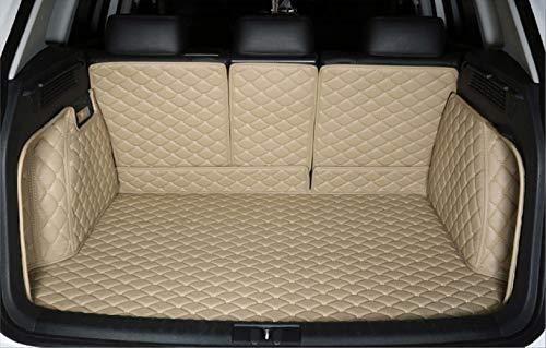 Bonus-Mats Custom Fit All-Weather Full Coverage Waterproof Car Cargo Liner Trunk Mat for 2020 2021 Mercedes Benz GLB Class GLB250 7 Seat GLB 250 5 Seat 4MATIC Beige