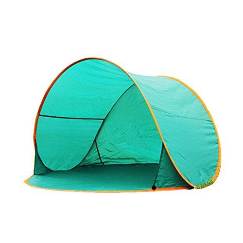 Creative Tente d'extérieur Easy up sun-shelter de pêche/plage/légère, vert
