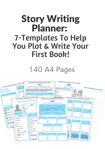 Story Writing Planner: 7-Templates To Help You...