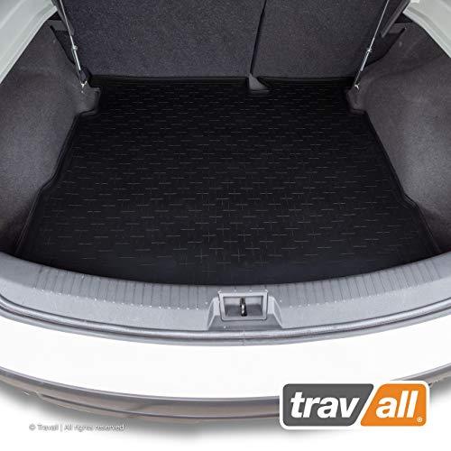 Travall Liner Tapis en Caoutchouc Compatible avec Nissan Qashqai J10 (2006-2013) TBM1060 - Tapis de Coffre en Caoutchouc sur Measure