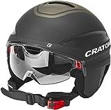 Cratoni Unisex– Erwachsene Vigor Fahrradhelm, Schwarz, S