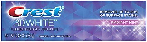 Crest 3D White Radiant Mint Dentifrice 24 g