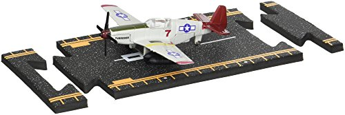 Hot Wings Planes P-51 Mustang (Tuskegee Airmen) with Connectible...