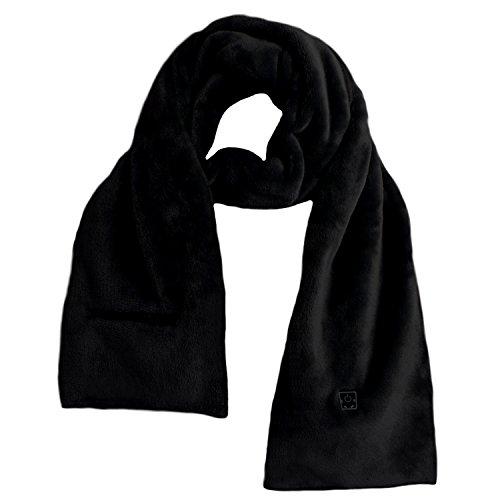 Glovii Écharpe Thermoactif Votre Power Bank Chauffée Noir/Gris/Blanc UNI (Noir)