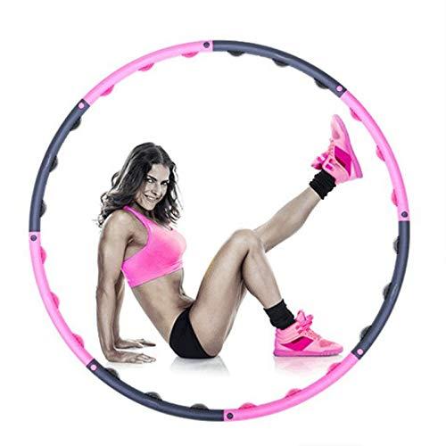 SPLLEADER 2020 Neu 1,5 Kg Neue Komfort Erwachsene Frauen Übergewicht Fitness Sport Hoop Körperformung Gewichtsverlust Abnehmbar