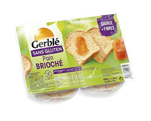 Gerblé Pain Brioché sans Gluten 400 g