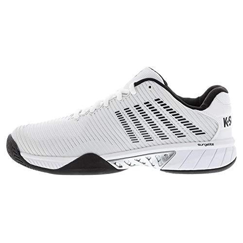 Product Image 3: K-Swiss Men's Hypercourt Express 2 Tennis Shoe (Barley Blue/White/Black, 10)