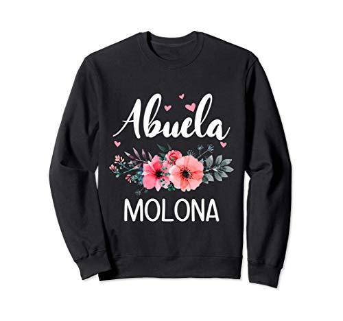 Abuela Molona, Regalo Original Para Abuelas Sudadera