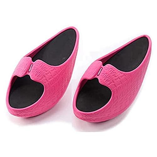 Yokbeer Zapatillas Adelgazantes para Mujer, Piernas Que Dan Forma, Hermosas Piernas, Zapatos, Zapatillas Relajantes Musculares, Zapatillas Deportivas de Equilibrio Corporal, Zapatillas de Yoga