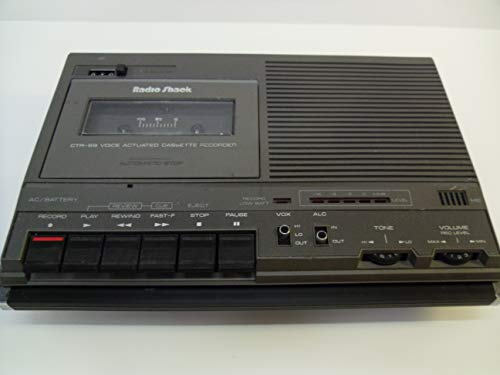 Radio Shack CTR-69 Voice Activated Cassette Recorder