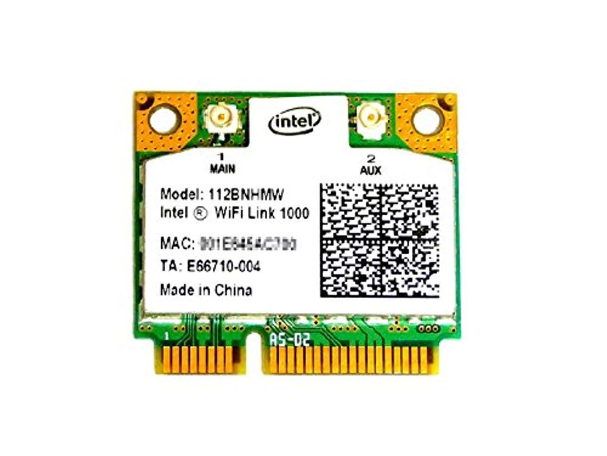 騒乱無条件証明するインテル Intel WiFi Link 1000 2.4GHz 802.11b/g/n PCIe Mini half 無線LANカード 112BNHMW