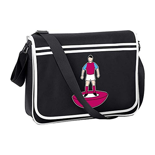 Ice-Tees SHB1660BLACK - Bolsa de hombro para el equipo favorito