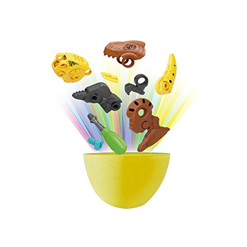 Take Apart Toys for Boys Dinosaur Eggs,Surprise Eggs Dinosaur Toys for Kids,Construction Stem Toys Dinosaurs with Screwdrivers Build Dino Gift for 2 3 4 Year +