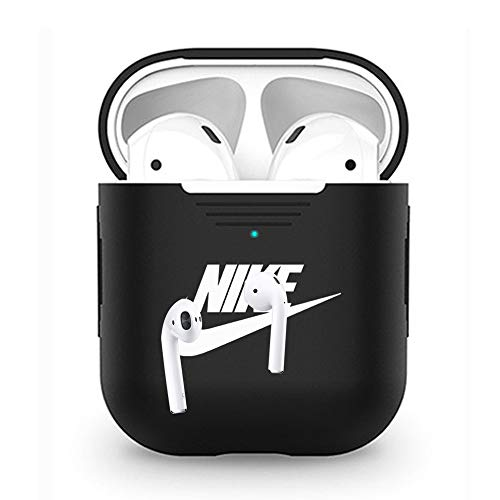 Earphone Accessories Airpods Case Protective Silicone Cover Skin for Apple Airpods(G)